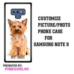 CUSTOM PICTURE PHOTO PERSONALIZED PHONE CASE COVER FOR SAMSUNG NOTE 9