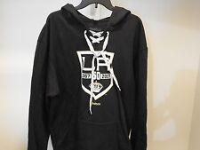 NHL Reebok 50 LA Kings Hooded Lace-Up Hockey Sweatshirt New Mens 2XL
