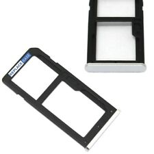 For Nokia 6 2017 Replacement SIM & SD Card Tray Holder Silver OEM