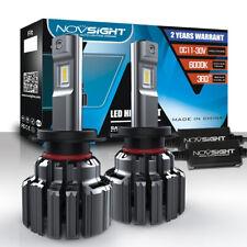 NOVSIGHT H7 80W 14400LM 6000K Cool White Car LED Headlight Bulbs Kit