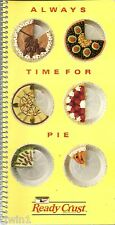 ALWAYS TIME FOR PIE SOFTCOVER SPIRAL BOUND COOKBOOK BY KEEBLER READY CRUST