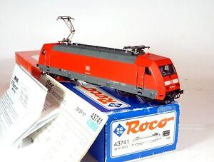 ROCO H0 43741 BR 101 004-0 de la DB Numérisée DC DIGITAL DCC Bachmann Etat neuf