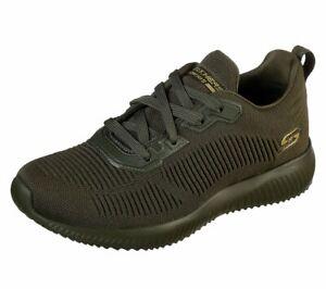 Skechers BOBS SPORT WOMENS BOBS SQUAD TOUGH TALK Sneakers Damen Grün