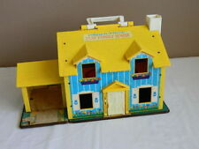 Authentic Vintage Fisher Price Play Family House Collectable Toy c1970's