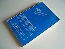 Manuale d'uso Stampante ad aghi IBM 5204