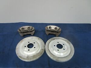 2003-04 Ford Mustang SVT Cobra Front Calipers, Brackets and Rotors 043
