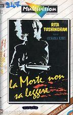 La morte non sa Leggere (1986) VHS Multivision 1a Ed.  - Rita Tushingham RAWI