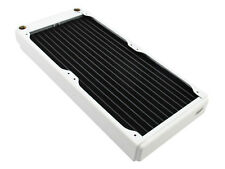 XSPC EX280 Slim Line Dual 140mm Fan Water Cooling 280mm Radiator White