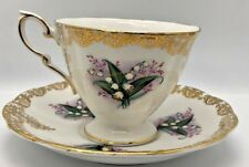 Royal Standard Lilly Of The Valley Tea Cup And Saucer Fine Bone China Dinnerware