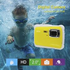 Waterproof HD 720P 12MP 2.0'' LCD Compact Girl&Boy Digital Camera Kids Children*