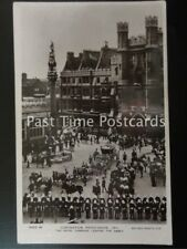 c1911 - KIng George V, Coronation Procession, Royal Carriage Leaving The Abbey