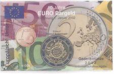 2 Euro Coincard / Infokarte Irland 2012 10 Jahre Euro Bargeld