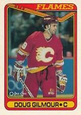 1990-91 O-Pee-Chee #136 DOUG GILMOUR - Calgary Flames