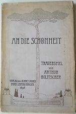 Arthur Holitscher, a la belleza, literatura, Albert Langen,
