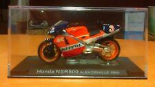 HONDA NSR 500 de 1999 - pilotée par Alex CRIVILLE - 1/24e - ALTAYA - NEUF