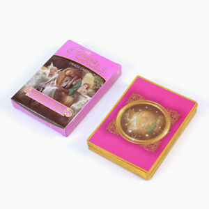 New 44PCS Romantic Angel Oracle CARDS Foresee Future Love Magic Tarot Deck