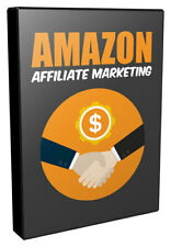 Amazon Affiliate Marketing/ Video Course+With Master Resell Rights+Free Shipping