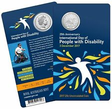 2017 25th Anniversary International Day Of People With Disability 20c Low Mint