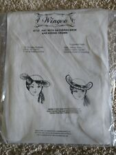"Wingeo Pattern #712 ""Hat with Gathered Brim and Round Crown"" New!"