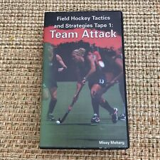 Learn Field Hockey Tactics and Strategies Tape 1: Team Attack VHS