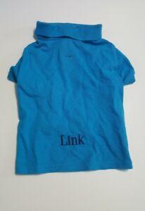 "RALPH LAUREN COTTON MESH DOG POLO SHIRT Blue DOG OUTFIT Sz:M (8-10LBS)""Link"""