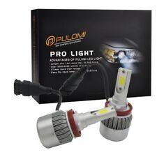 72W 7200lm 2 Sides COB LED Headlight Kit H8 H9 H11 Low Beam 6000K Bulb White 12V