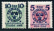 SCHWEDEN 1916 98,104 ** POSTFRISCH TADELLOS (I2092