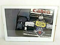 Nigel Mansell Williams F1 Framed Signed Print No.15 Of 100.Limited Edition Rare