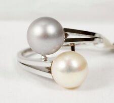 Ringe mit echten Perlen für Akoya Innenvolumen (18,1 mm Ø)