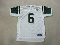 Reebok Mark Sanchez New York Jets Football Jersey Youth Extra Large White Kids