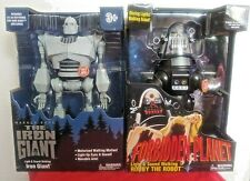 Walmart Exclusive Iron Giant & Robby the Robot Walking Talking light-up robots