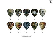 Steampunk Guitar Pick Set (10pcs) BUY 2 SAME GET THE 3RD FREE