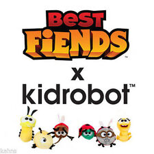 kidrobot Best Fiends Plush Set of - Bob  Jojo Gene Edward Brittle