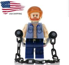 USA Chuck Norris Mini Figure Toy Lego Compatible Collectible Toy minifig blocks