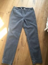 ROBELL Bella Grey Jeans / Trousers Size 16 / 42 Regular Vgc