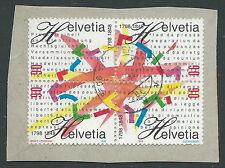 1998 SVIZZERA USATO STATO FEDERALE E REPUBBLICA - CZ