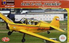 Zlin Z-126 Trener , 1:72, KP, Plastikbausatz, Club Line, Neu