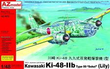 "AZ Models 1/48 KAWASAKI ki-48-iib sokei "" Lily "" #48072"