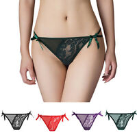 Women Underwear Sexy Thongs Lady Lingerie T-Back G-string Panties Lace Knickers