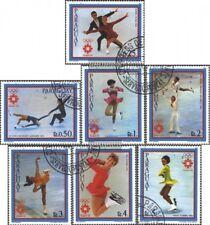 Paraguay 3609-3615 (edición completa) usado 1983 Pre-olímpico Juegos de Invierno