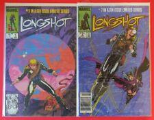 Longshot #1-2 - lot of 2 - VF/NM - KEY ISSUES