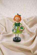 32018 Flannery Jig Lori Mitchell Figurine St Patrick Day Irish Leprechaun Dance