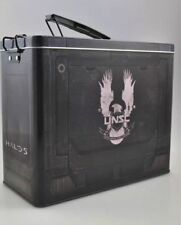 *UK* Halo Ammo Tin Lunchbox Metal Box Loot Crate Exclusive Geek Halo 5 UNSC
