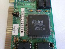 Trident 9016x2 Lt2 Tvga9000b Isa Fpm VGA Grafikkarte