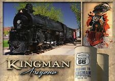 Steam Engine #3759, Locomotive Park, Kingman Arizona --- Railroad Train Postcard
