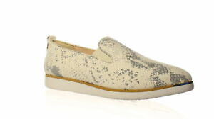Cole Haan Womens Grand Ambition Slip On Ivory Casual Flats Size 8 (1300940)