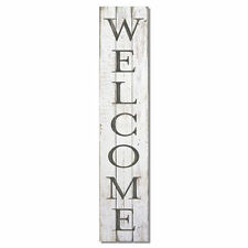 """NEW 36"""" WOOD RECLAIMED PALLET SIGN PLAQUE MADE IN USA  WELCOME FARMHOUSE DECOR"""