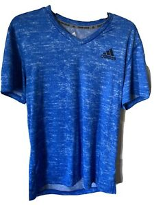 Men's Adidas Climalite Tee; Size M; Blue; Excellent Condition