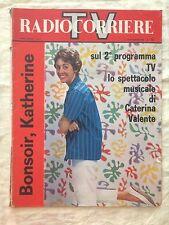 Radiocorriere TV n.45 novembre 1961 - Caterina Valente