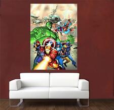 Los Vengadores enorme Cartel 7 A456